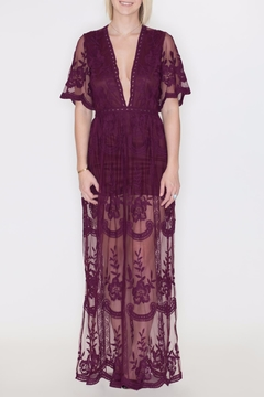 She + Sky Crochet Lace Maxi - Product List Image