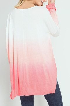 She + Sky Dip Dye Top - Alternate List Image