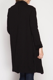 She + Sky Double Faced Open Cardigan - Front full body