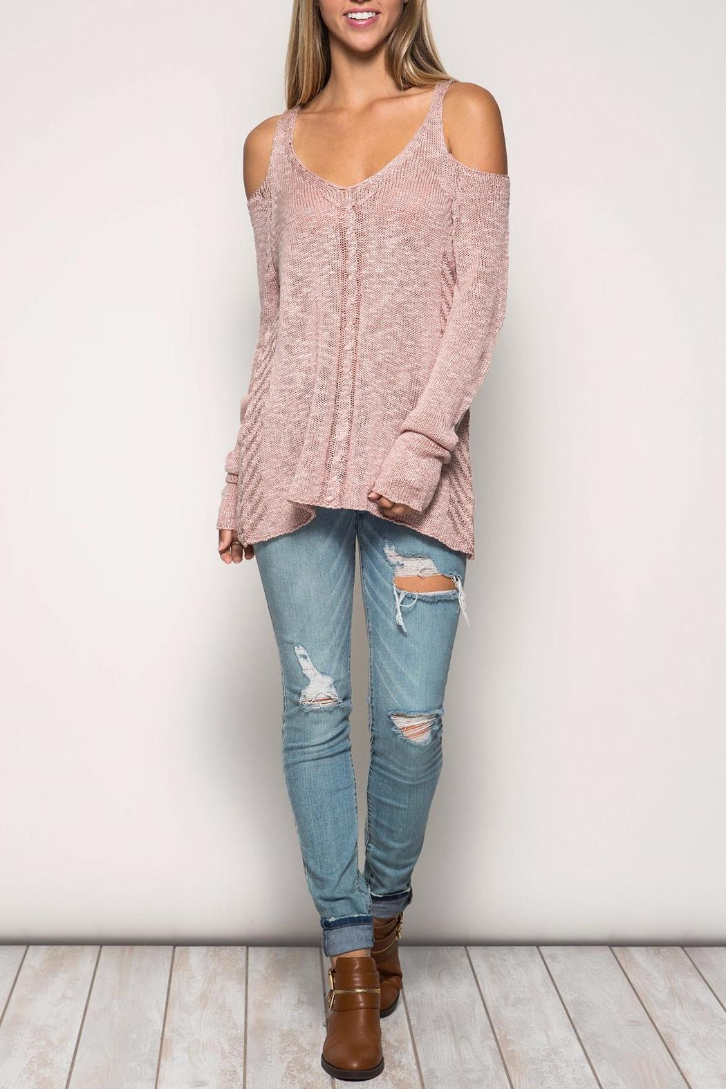 She   Sky Dusty Pink Sweater from New York by Isabella's Boutique ...