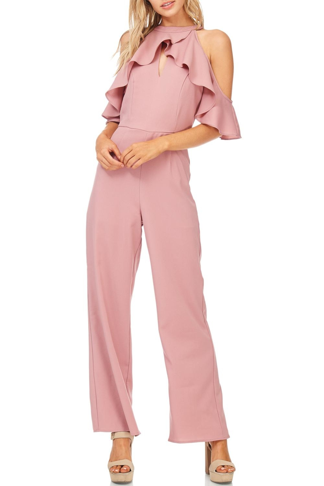 d10b662b1f66 She + Sky Dusty Rose Jumpsuit from Wisconsin by Apricot Lane ...