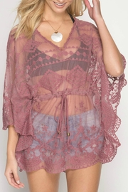 She + Sky Dusty Rose Cover-Up - Product Mini Image