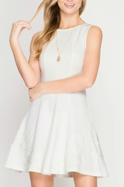 She + Sky Fit And Flare Dress - Product Mini Image
