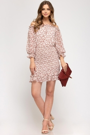 She + Sky Floral Blossoms Dress - Front cropped