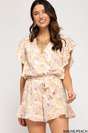 She + Sky Floral My Way - Front full body