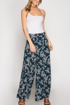 She + Sky Floral Pant - Product List Image
