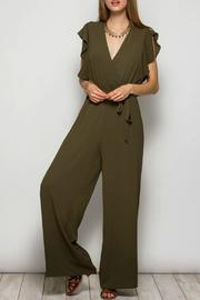 She + Sky Flutter Sleeve Jumpsuit - Product Mini Image