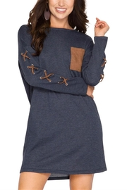 She + Sky French Terry Pocket Dress - Product Mini Image