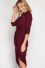 She + Sky Front Twist Dress - Other