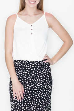 She + Sky Front Twist Top - Product List Image
