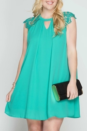 She + Sky Gabbi Jade Dress - Product Mini Image