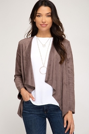 She + Sky Gale Jacket - Front cropped
