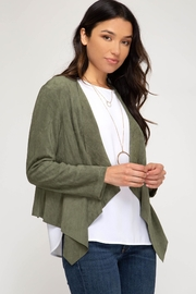 She + Sky Gale Jacket - Side cropped