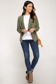 She + Sky Gale Jacket - Front full body