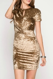 She + Sky Graci Velvet Dress - Product Mini Image