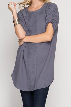 Shoptiques Product: Grey Terry Top