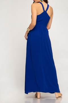 She + Sky Halter Maxi Dress - Alternate List Image