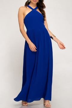 She + Sky Halter Maxi Dress - Product List Image