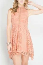 She + Sky Handkerchief Hem Dress - Product Mini Image