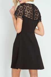 She + Sky Hello Lace Dress - Front full body