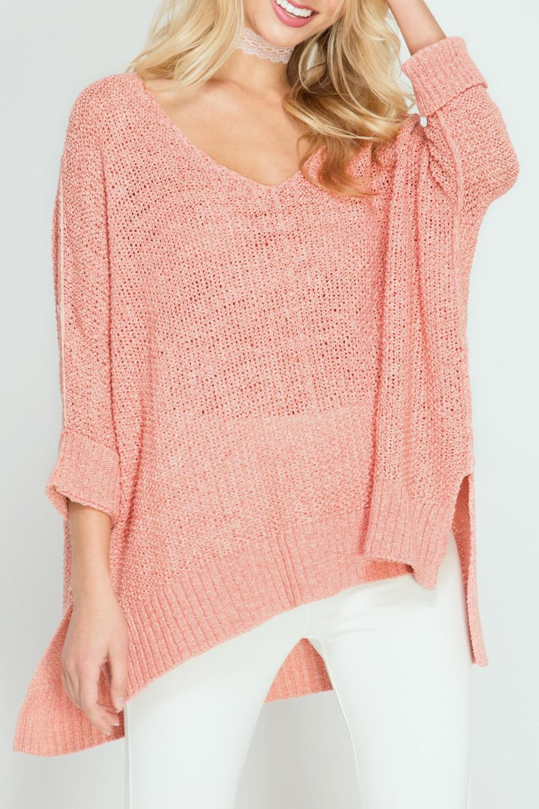 She Sky High Low Knit Sweater From New Jersey By Sandy Banks