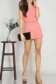 She + Sky High Waist Textured Shorts - Product Mini Image