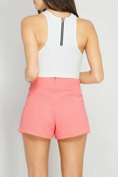 Shoptiques Product: High Waist Textured Shorts