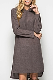 She + Sky Hoodie Sweatshirt Dress - Product Mini Image