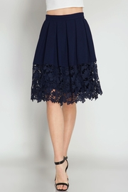 She + Sky Kelly Crochet Skirt - Side cropped