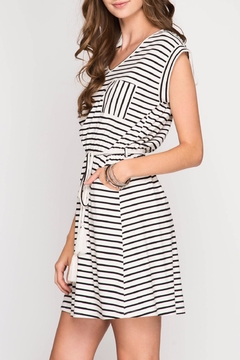 Shoptiques Product: Knit Striped Dress