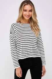 She + Sky Knot Back Sweater - Product Mini Image