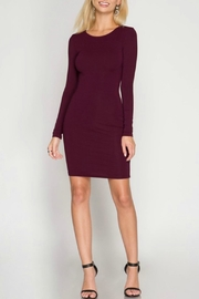 She + Sky Krissy Bodycon Dress - Product Mini Image