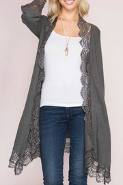 She + Sky Lace Cardigan - Product Mini Image