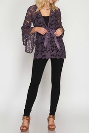 She + Sky Lace Jacket - Other