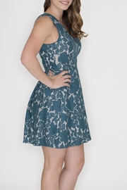 She + Sky Lace Overlay Dress - Front full body