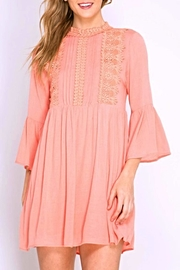 She + Sky Lace Pintuck Dress - Product Mini Image