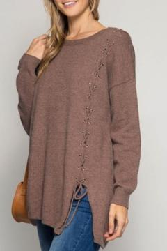 Shoptiques Product: Lace Side Sweater