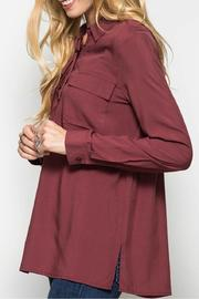 She + Sky Lace Up & Pockets - Front full body