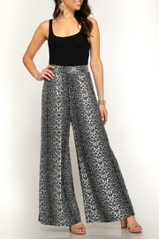 She + Sky Leopard Palazzo Pants - Product Mini Image