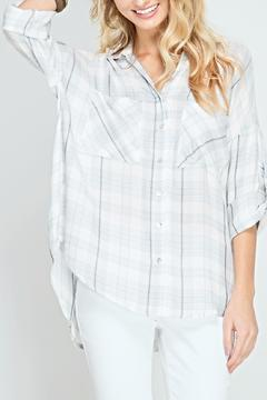 Shoptiques Product: Lightweight Plaid Top