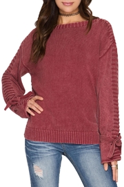She + Sky Long Sleeve Pullover - Product Mini Image