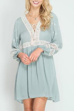 Shoptiques Product: Long Sleeve Shift Dress