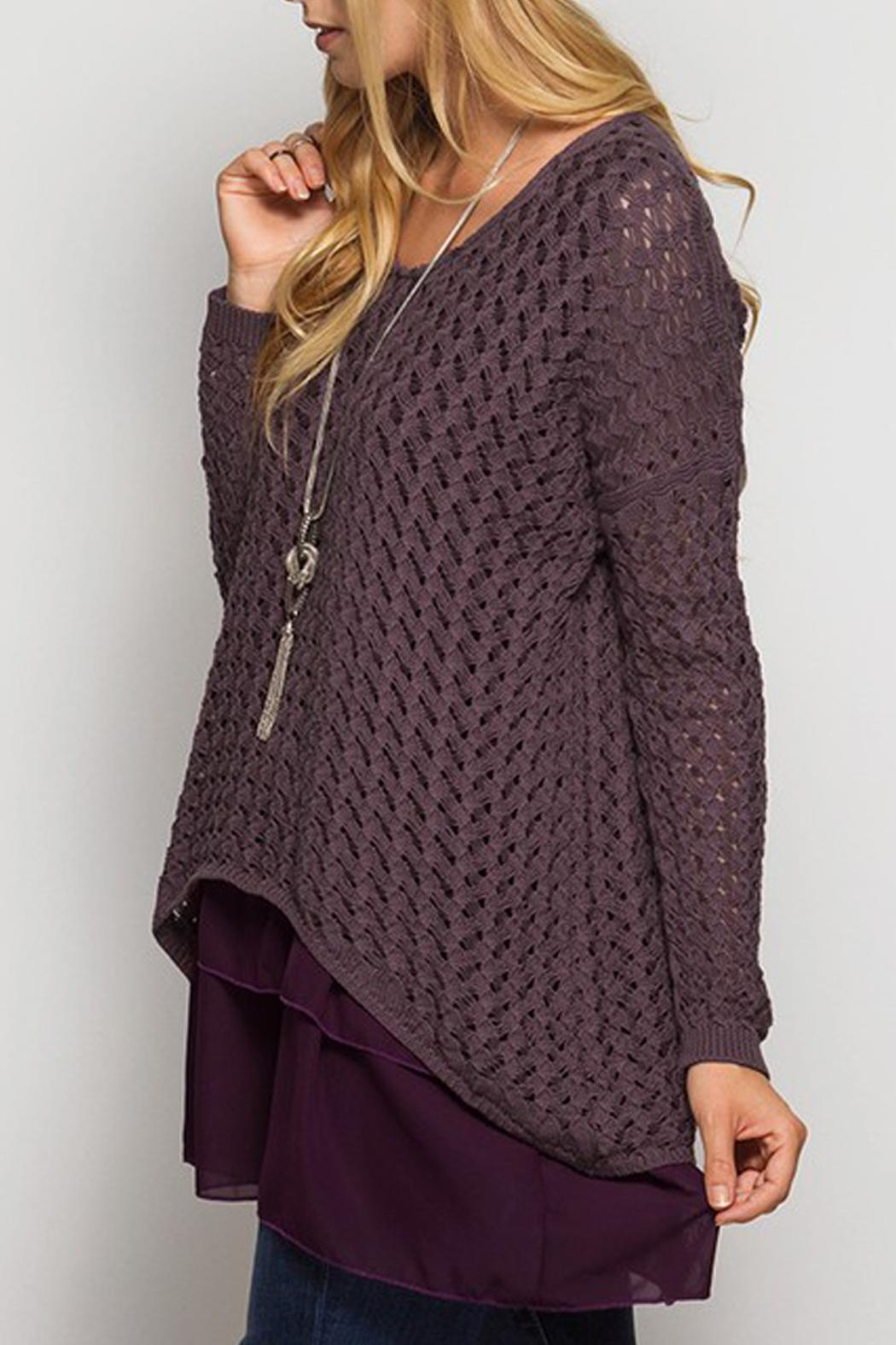 She   Sky Long Sleeve Sweater Tunic from Texas by JChronicles ...