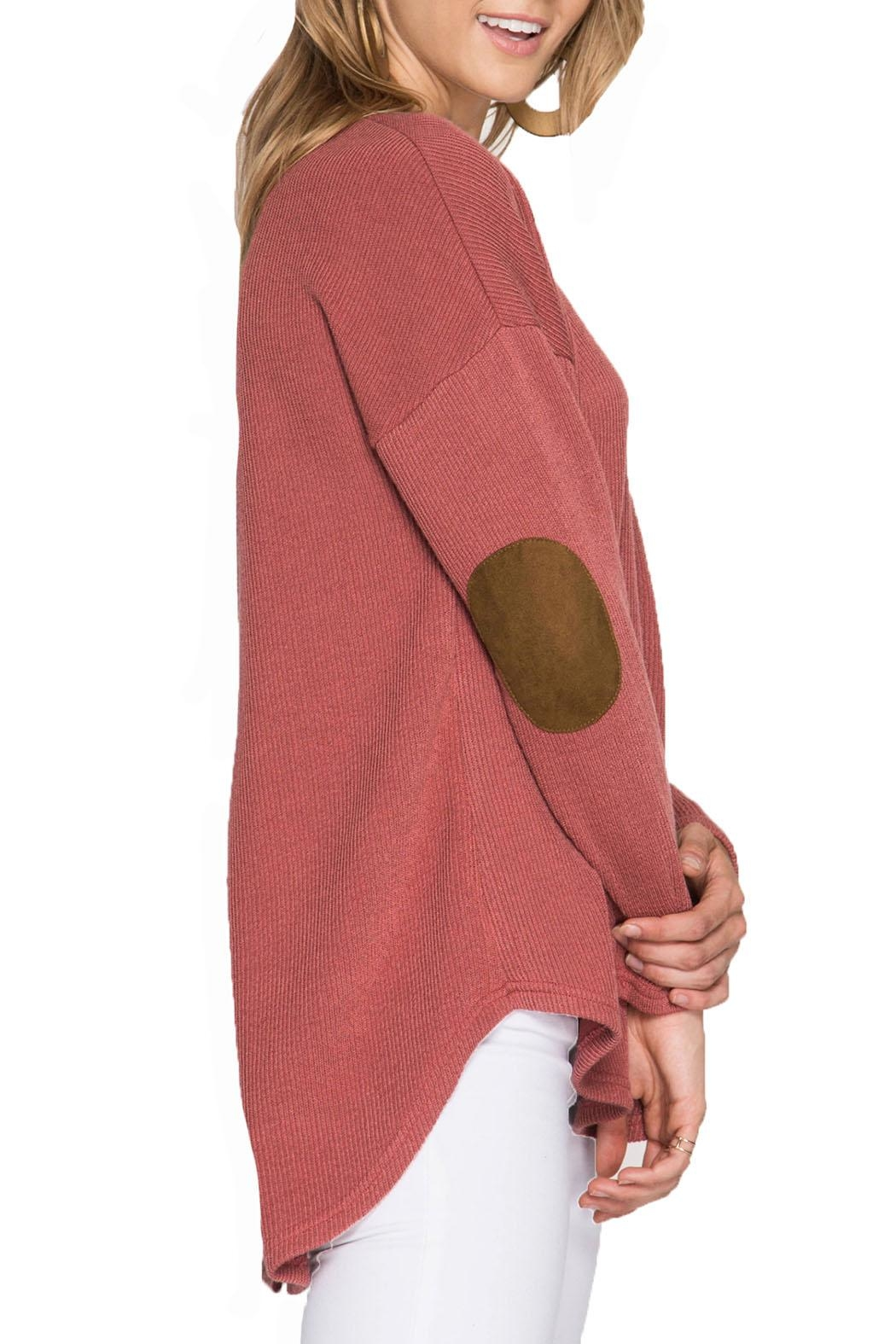She + Sky Long Sleeve Top - Main Image