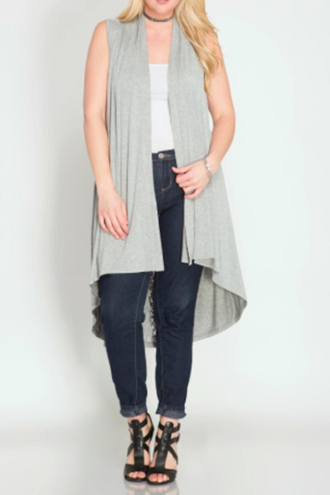 She   Sky Long-With Lace Cardigan from Massachusetts by Fashion ...