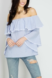 She + Sky Longsleeve Blouse - Product Mini Image