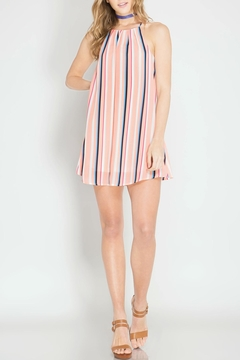 Shoptiques Product: Lotus Stripe Dress