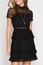 She + Sky Madison Lace Dress - Product Mini Image