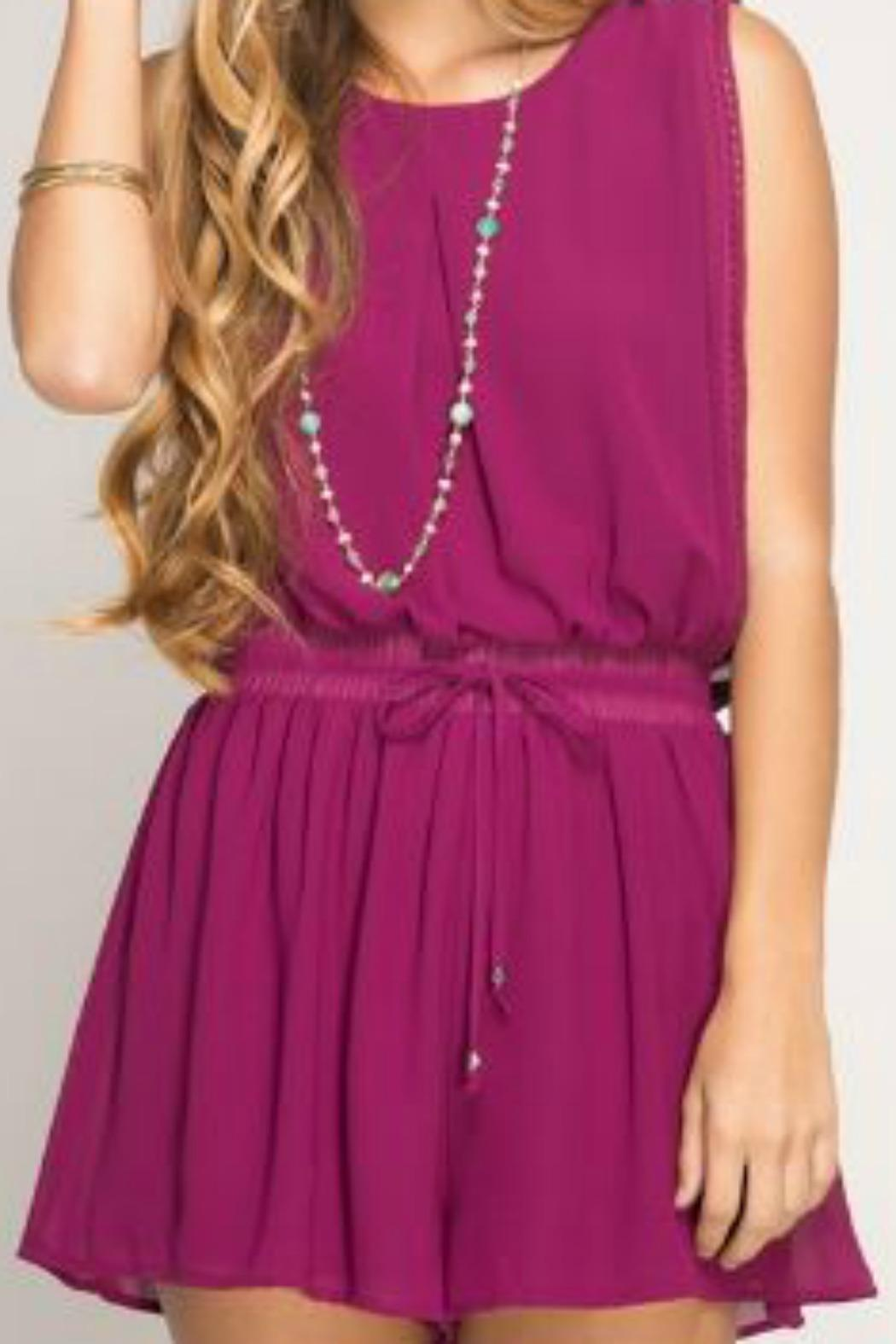 3ad7ea3acf18 She + Sky Magenta Romper from Florida by Salty Roots Boutique ...