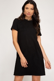 She + Sky Maple Dress Black - Front cropped